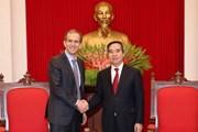 Trưởng ban Kinh tế Trung ương tiếp Phó Chủ tịch của Tập đoàn Google