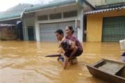 Quảng Ngãi: Hồ chứa nước Núi Ngang xả lũ điều tiết để đảm bảo an toàn