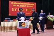 Cao Bằng: Kết quả lấy phiếu tín nhiệm 26 chức danh do HĐND tỉnh bầu
