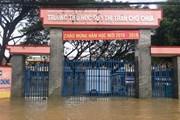 Quảng Ngãi: Hơn 15.000 học sinh tiếp tục nghỉ học do mưa lũ