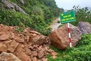 Đà Nẵng: Đường lên bán đảo Sơn Trà bị sạt lở nghiêm trọng