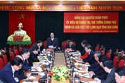 Thủ tướng Nguyễn Xuân Phúc: Hòa Bình cần tận dụng Thủ đô để phát triển