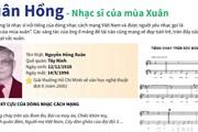 [Infographics] Xuân Hồng - Nhạc sỹ của mùa Xuân