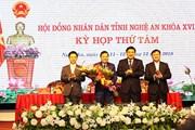 Ông Lê Hồng Vinh được bầu làm Phó Chủ tịch UBND tỉnh Nghệ An