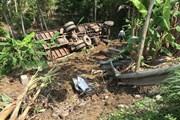 Sơn La: Xe tải lao xuống vực làm 1 người chết, 3 người bị thương