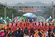 Quảng Ninh: Khai mạc hội hoa Sở với chủ đề Bình Liêu mùa hoa Sở