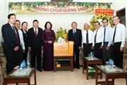 Phó Chủ tịch nước chúc mừng Tổng LH Hội thánh Tin Lành VN (miền Nam)