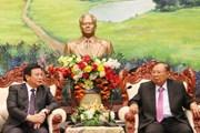 Lào đề nghị Việt Nam giúp đào tạo nhân lực trong lĩnh vực nghiên cứu