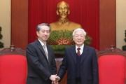 Tổng Bí thư, Chủ tịch nước Nguyễn Phú Trọng tiếp Đại sứ Trung Quốc