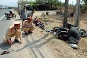 Hưng Yên: Va chạm giữa hai xe máy làm ba người thương vong