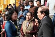 Phó Chủ tịch nước tiếp đại biểu Hội nghị quốc tế quảng bá văn học Việt