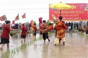 Phú Thọ: Tái hiện sống động lễ hội Vua Hùng dạy dân cấy lúa