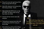 Cuộc đời và sự nghiệp của huyền thoại thời trang Karl Lagerfeld