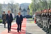 Hình ảnh lễ đón Thủ tướng Nguyễn Xuân Phúc thăm chính thức Séc