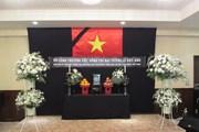 Hình ảnh lễ tang nguyên Chủ tịch nước, Đại tướng Lê Đức Anh tại Nhật