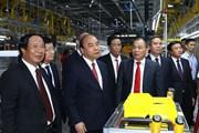 Hình ảnh lễ khánh thành Nhà máy ôtô VinFast tại Hải Phòng