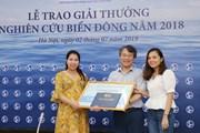TTXVN giành 2 giải Báo chí xuất sắc về biển Đông năm 2018