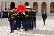Hình ảnh lễ quốc tang cố Tổng thống Pháp Jacques Chirac