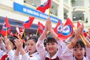 Cô và trò Tiểu học Thăng Long tưng bừng kỷ niệm 90 năm thành lập