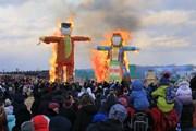 [Photo] Người dân Nga tưng bừng trong Lễ tiễn mùa Đông