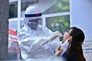 Hà Nội lấy mẫu xét nghiệm RT-PCR cho người về từ Đà Nẵng