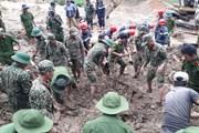 Sạt lở tại Trà Leng: Triển khai nghiệp vụ tìm kiếm người bị vùi lấp