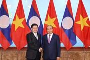 Kỳ họp thứ 43 Ủy ban liên Chính phủ Việt-Lào về hợp tác song phương