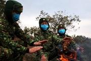 Bộ đội Biên phòng Lai Châu kiên trì bám chốt chống dịch trong giá rét