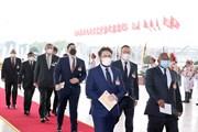 Hình ảnh đại biểu quốc tế đến dự khai mạc Đại hội XIII của Đảng