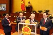 Phê chuẩn danh sách Phó Chủ tịch, Ủy viên Hội đồng Bầu cử quốc gia