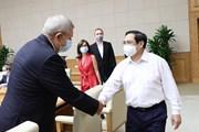 Thủ tướng làm việc với các doanh nghiệp châu Âu tại Việt Nam