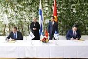 Chủ tịch Quốc hội Vương Đình Huệ tiếp lãnh đạo Tập đoàn Nokia