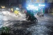 Thành phố Hà Nội có mưa rào và dông vài nơi trong đêm nay