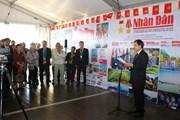 Đoàn đại biểu báo Nhân dân tham dự Hội báo Nhân đạo Pháp lần thứ 83
