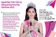 [Infographics] Người đẹp Trần Tiểu Vy đăng quang Hoa hậu Việt Nam 2018