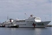 Tàu Hải quân Trung Quốc lần đầu tiên cập cảng Venezuela