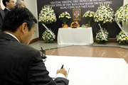 Lễ viếng và mở Sổ tang nguyên Tổng Bí thư Đỗ Mười tại Indonesia