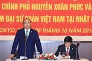 Thủ tướng Nguyễn Xuân Phúc gặp gỡ cộng đồng người Việt tại Nhật
