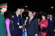 Thủ tướng kết thúc tốt đẹp chuyến dự Hội nghị Cấp cao Mekong-Nhật Bản