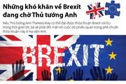 [Infographics] Những khó khăn về Brexit đang chờ Thủ tướng Anh