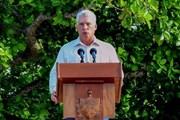 Chủ tịch Cuba tiếp tục chỉ trích chính sách cấm vận của Mỹ