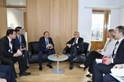 Thủ tướng tiếp xúc song phương nhân dịp Hội nghị Cấp cao ASEM12