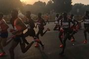Sóng radio tần số siêu cao giảm ô nhiễm tại Giải chạy New Delhi 2018