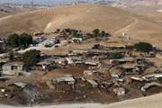 Israel hoãn kế hoạch phá hủy làng của người Bedouin ở Bờ Tây