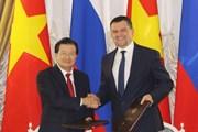 Khóa họp lần thứ 21 Ủy ban liên Chính phủ Việt Nam-Liên bang Nga