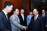 Thủ tướng Nguyễn Xuân Phúc tiếp lãnh đạo tập đoàn lớn của Trung Quốc