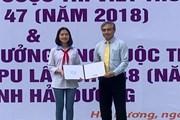 Trao giải Ba quốc tế cuộc thi viết thư quốc tế UPU lần thứ 47