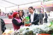 Khai mạc hội chợ nông sản Tết Nguyên đán Kỷ Hợi năm 2019