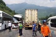 Tai nạn ở đường dẫn hầm Hải Vân: Còn 4 nạn nhân điều trị tại bệnh viện