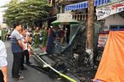 Hình ảnh vụ cháy ở Huế khiến 3 người trong một gia đình tử vong